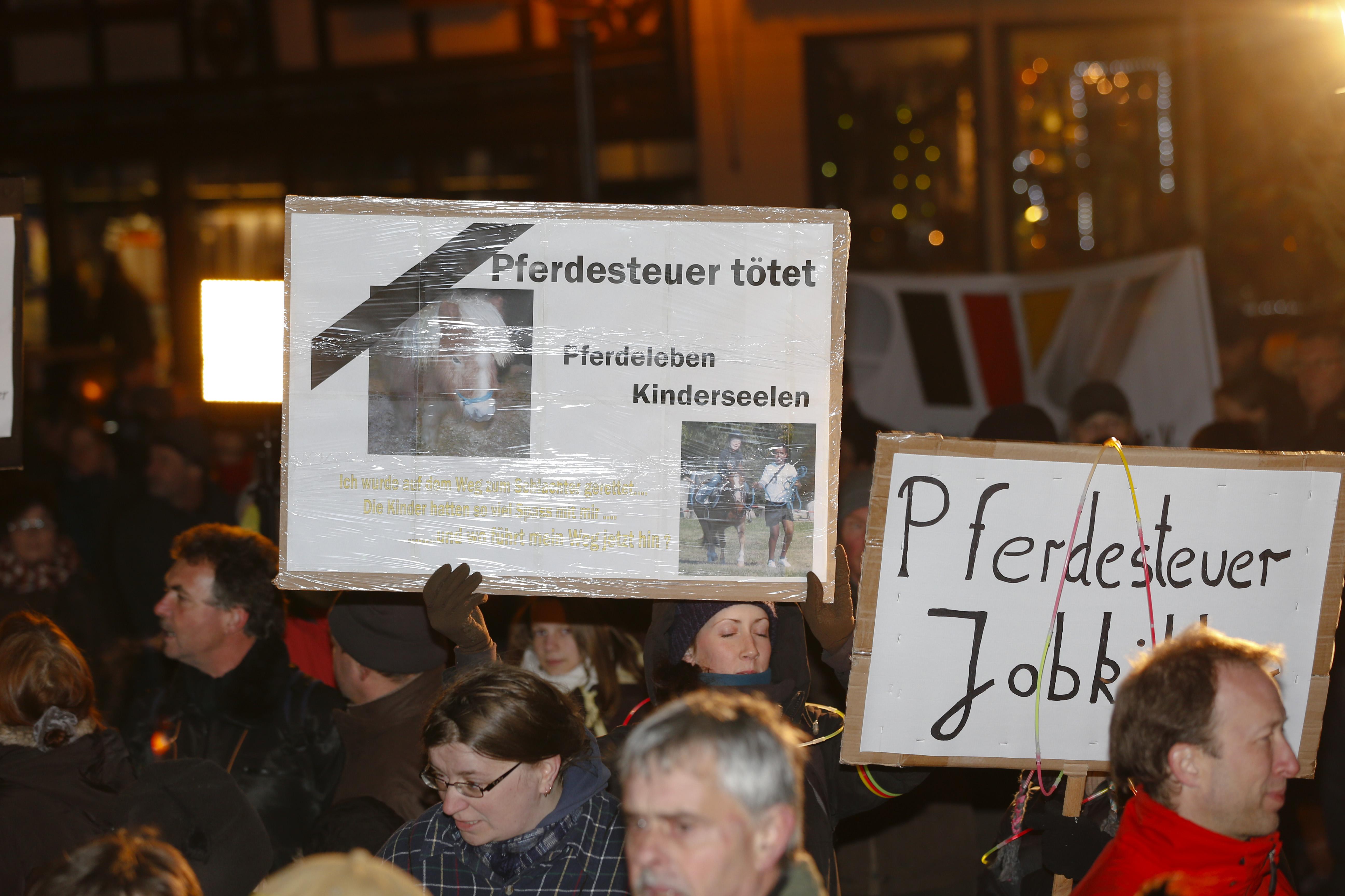 Pferdesteuer in Tangstedt kommt