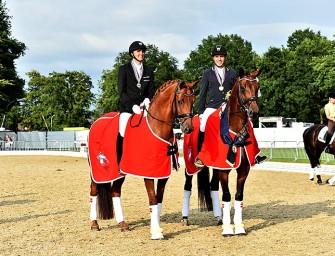 Die Dänischen Schwestern Fiontina und Weltmeisterin Fiontini