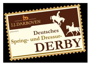 Deutsches Spring- und Dressurderby Logo 2016