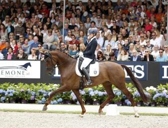 Dressurpferde-Weltmeisterin Victoria's Secret an Anna Kasprzak verkauft