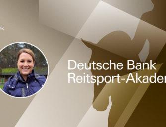 Deutsche Bank Reitsport-Akademie: Victoria Michalke