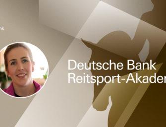 Deutsche Bank Reitsport-Akademie: Svenja Peper