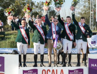 Ocala: Irland holt Nationenpreis, Cian O'Connor den Jackpot