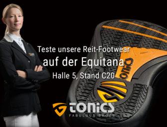 ANZEIGE: TONICS Reitsport Footwear – Auftritt auf der EQUITANA