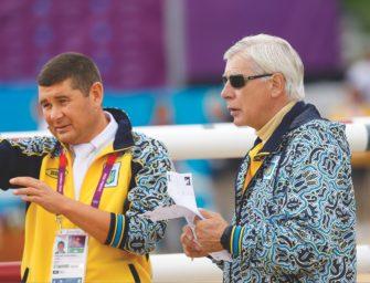 """Springpferdeauktion """"Top Ten"""": Alexander Onischenko kauft wieder"""