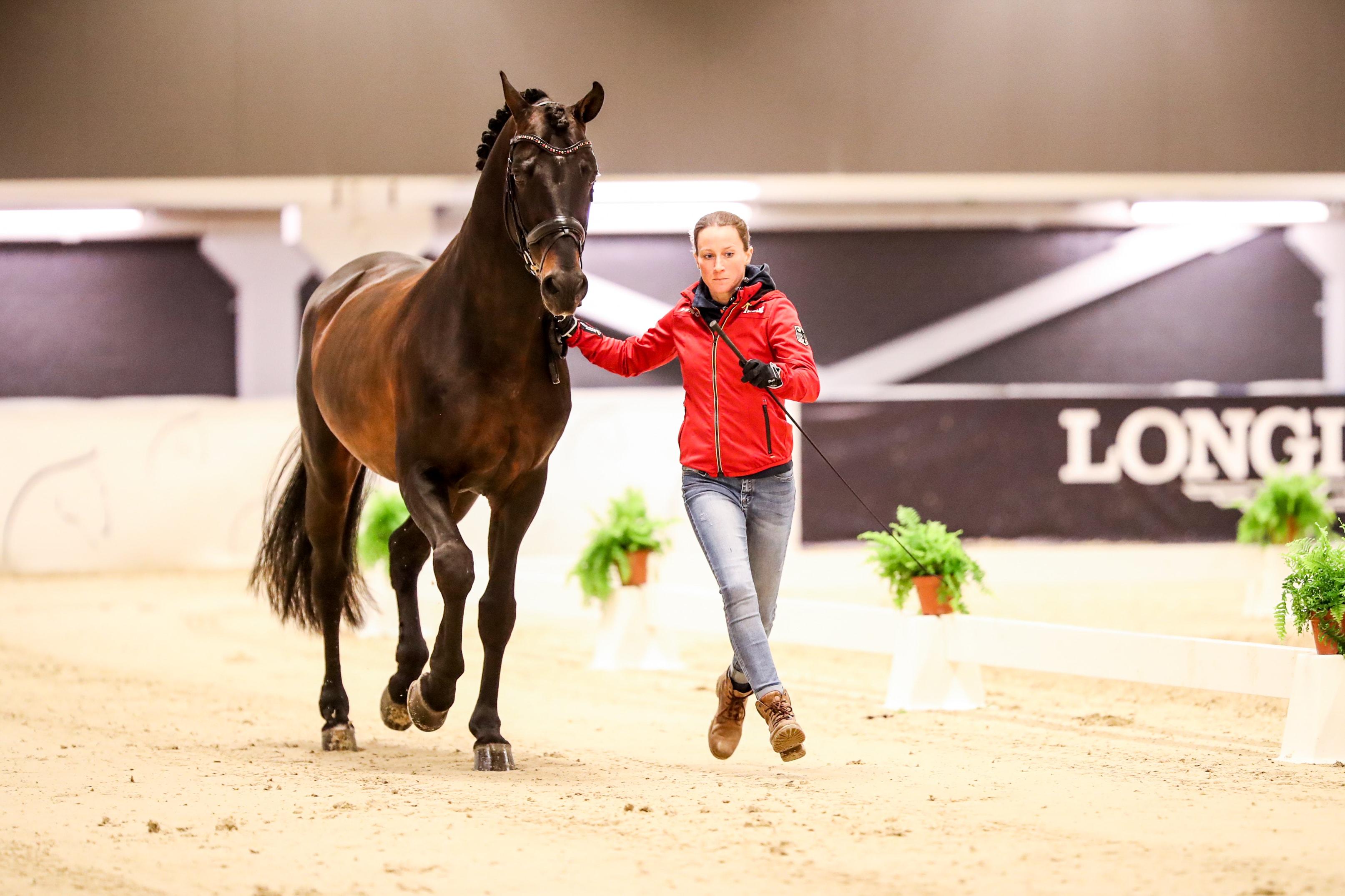 Sportabschied in der Wüste - 10 Dinge über Helen Langehanenbergs Damsey - - St.GEORG